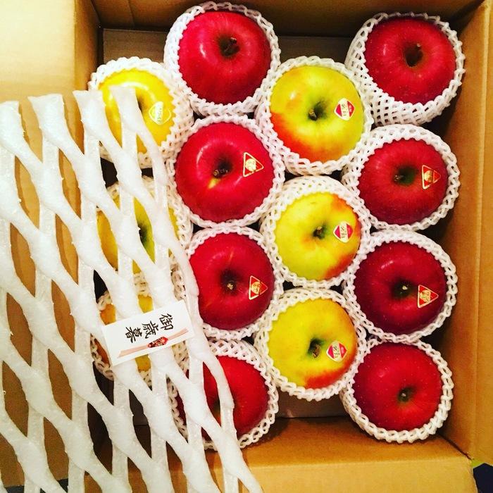 りんごは美肌効果絶大