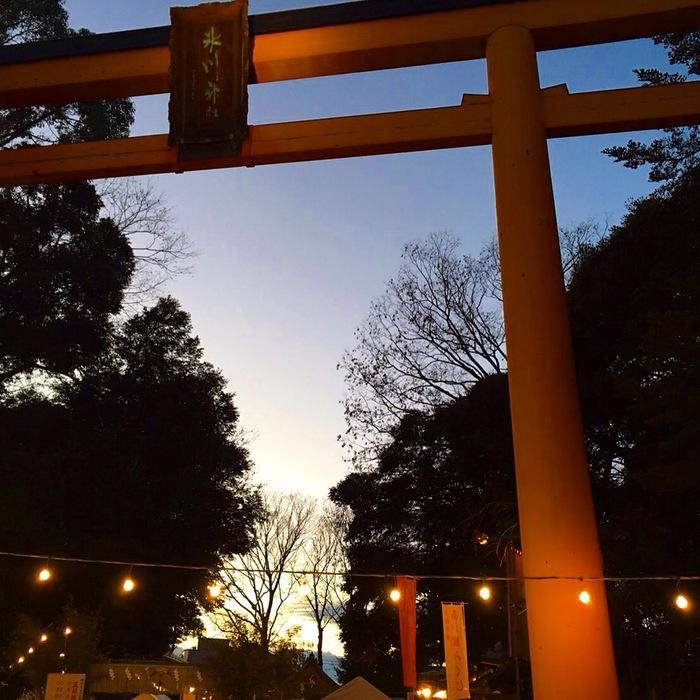川越氷川神社へ開運祈願のお参り