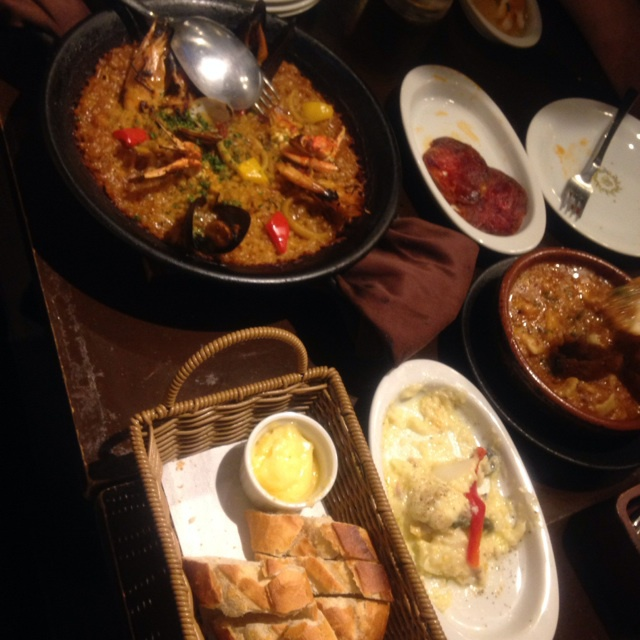スペイン料理 新年会